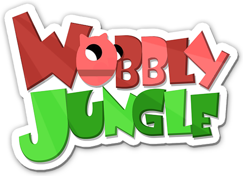 wobbly jungle logo