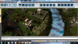 Sourena Game Studio - design a scene in editor