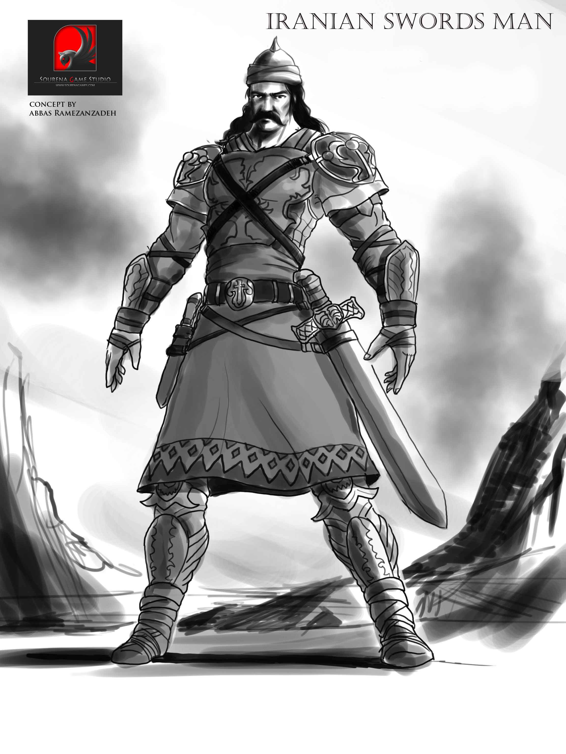 Sourena Game Studio - Iranian Swordsman