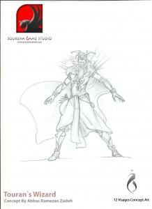 Sourena Game Studio - Touran's_wizard